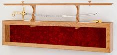 Glass Display Cases for Swords | Don't let your sword sit in a closet display your Family's Heirloom)