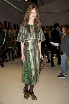Burberry Fall 2016 Ready-to-Wear Fashion Show Beauty