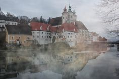Steyr, Austria Austria Country, Steyr, Central Europe, Salzburg, Wonders Of The World, Places Ive Been, Beautiful Places, Spaces, Mansions