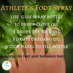 Athlete's Foot Spray