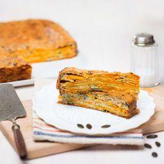 Kürbis-Schichtkuchen / Foto: Mona Lorenz Mona, Banana Bread, Desserts, Oven, Dessert Ideas, Easy Meals, Chef Recipes, Food Food, Tailgate Desserts