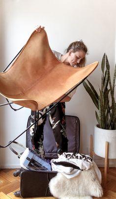 Mi vida en dos valijas Butterfly Chair, Blog, Home Decor, Life, Room Decor, Home Interior Design, Home Decoration, Folding Chair, Interior Decorating