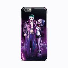 Harley Quinn Joker Suicide Squad Hard Case iPhone 4 4S 5c 5 5S SE 6 6S 7 Plus #Apple