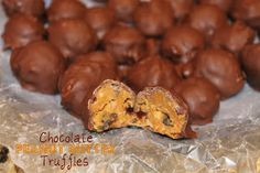 Cargile Family Favorite Recipes: Chocolate Peanut Butter Truffles