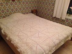Bedspread. Crochet. Own work. #crochet #inspiration_crochet