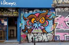 Sunday Street Art : Nite Owl - rue Dénoyez - Paris 20  http://www.parisladouce.com/2017/06/sunday-street-art-nite-owl-rue-denoyez.html