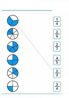 Math Fractions Worksheets, 3rd Grade Math Worksheets, Free Math Worksheets, Math Vocabulary, Math School, Homeschool Math, Math For Kids, Math Classroom, Math Lessons