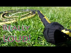 How To Make An Extremely Loud Paracord Bullwhip - Part 1 - YouTube