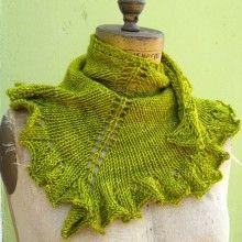 Grace Akhrem~Seaweed Scarf Knitting Pattern for sale