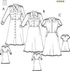 Svenska Mönster - Klänningar / tunikor Swedish Sewing, Sewing Patterns, Inspiration, Blogg, Mandala, Biblical Inspiration, Patron De Couture, Dress Patterns, Inspirational