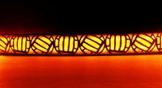 Volleyball dog collar w/ LED glow light lighted pet by BellaTAZ