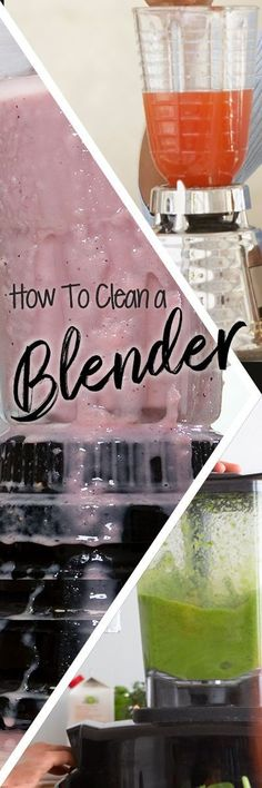 We love our smoothies, but cleaning a blender can be an unappealing task. The small components and bulky carafe can be unwieldy, while the sharp blades can be a challenge to clean.To avoid the need for frequent deep cleaning, you should thoroughly rinse your blender immediately following each use. Food and liquid will be far easier to remove from your blender if it doesn't have the chance to dry on the surface before you wash it. Household Cleaning Tips, House Cleaning Tips, Deep Cleaning, Cleaning Hacks, Bbq Grill Cleaner, Nutritious Smoothies, Organization Hacks, Organizing Tips, Clean Grill