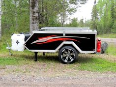Roadman Camper- Motorcycle camper- Motorcycle trailer