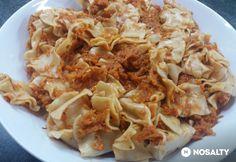 Répás tészta bolognai helyett Bologna, Cake Cookies, Cabbage, Paleo, Vegan, Vegetables, Ethnic Recipes, Food, Drink