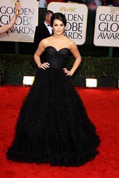 Lea Michele, de Oscar de la Renta
