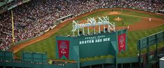 Fenway Park. Oldest baseball park in the country and home to the Boston Red Sox. 20 minute walk from the BAC. #Boston
