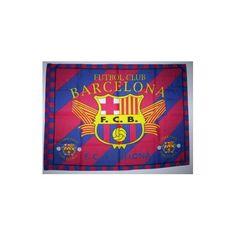 FC BARCELONA Soccer Flag Cloth POSTER HUGE 5x3 Ft NEW A