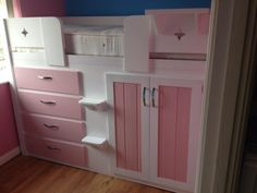 Cabin Beds For Small Rooms all white cabin bed with 3 drawers. if your child has a small room