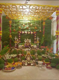 Home Decorations Collections Blinds Diy Diwali Decorations, Festival Decorations, Flower Decorations, Gauri Decoration, Decoration For Ganpati, Diy Backdrop, Backdrops, Ganesh Chaturthi Decoration, Ganapati Decoration