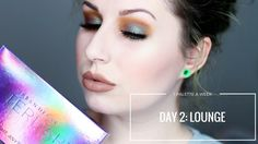 URBAN DECAY AFTERDARK - DAY 2: LOUNGE | 1 PALETTE FOR A WEEK - YouTube
