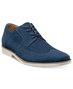 Stacy Adams Shoes, Telford Wing Tip Lace Up Oxfords - All Men's Shoes - Men - Macy's