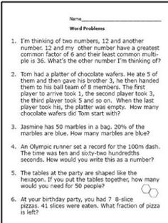 4 Worksheets Real Life Word Problems Part 5 Realistic Math Problems Help graders Solve Real Life √ Worksheets Real Life Word Problems Part 5 . 4 Worksheets Real Life Word Problems Part Differentiated Math Real Life Math Word Problems Eating Out Basic Math Problems, Fraction Word Problems, Life Problems, 6th Grade Math Problems, Life Questions, This Or That Questions, Geometry Words, Greatest Common Factors, Real Life Math