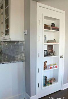 Make Your Room Look Amazing Just By Transforming Your Closet Door