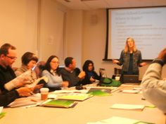 """On our seminar """"Working with Families""""."""