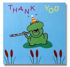 frog thank you clipart - Google Search