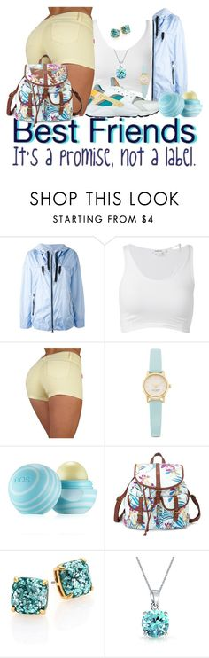 """No Labels"" by thailyn-nicole on Polyvore featuring FAY, Helmut Lang, Kate Spade, Eos, Charlotte Russe, Bling Jewelry, women's clothing, women, female and woman"