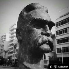 Józef Piłsudski  #estatua #statue #escultura #sculpture #art #streetart #riodejaneiro #bnw #bw_lover #bnw_worldwide