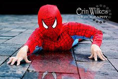 Creative Photography Halloween Costume ideas Spiderman