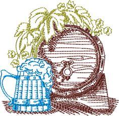 Beer mug and keg for Alex