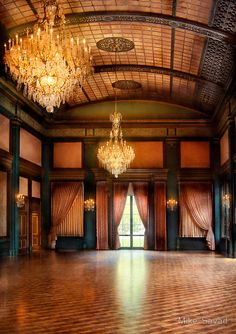 The Ballroom by Mike Savad