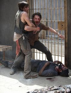 """From the Walking Dead Tyrese 
