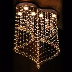 New Luxury Modern Crystal Lights Aisle Lights Creative Porch Lights Crystal Ceiling Chandelier Lighting Fixtures Free Shipping