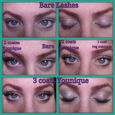 HOLY EYE LASHES!! Want longer full lashes? 3D lashes goes on like mascara without the mess or glue!  http://youniquproducts.com/freetobeyounique