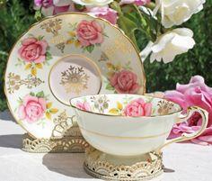 Paragon Tea Cup Pink Rose & Gilt