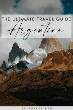 A complete travel guide to Argentina | Explore Argentina | The perfect Argentina itinerary | Things to do in Argentina | When to visit Argentina | What to do in Argentina | Argentina travel inspiration | Argentina travel guide | The best Argentina itinerary inspiration | Argentina travel guides | Things to do in Patagonia | Iguazu Travel | Mendoza travel | Buenos Aires travel | Best time to visit Argentina | Patagonia itinerary | visita Argentina turismo | Que hacer en Argentina Visit Colombia, Visit Argentina, Argentina Travel, Travel Guides, Travel Tips, In Patagonia, South America Travel, Ultimate Travel, Travel Aesthetic