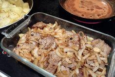Nyt herkutellaan merimiespihvillä - kokeile helppoa reseptiä! | ruoka-artikkelit | Iltalehti.fi Potato Salad, Cauliflower, Good Food, Easy Meals, Food And Drink, Meat, Chicken, Vegetables, Cooking