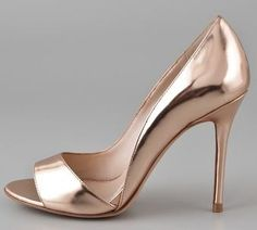 Jean Michel Cazabat dip side #gold sandals