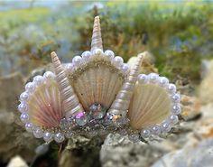 White Mermaid Crown
