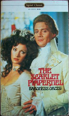 """""""the scarlet pimpernel"""" - 1982 signet classic film cover edition"""
