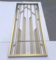Window Grill Design Modern, Grill Door Design, Steel Grill Design, Wall Partition Design, Wall Panel Design, Decorative Metal Screen, Steel Gate Design, Stainless Steel Screen, Railing Design