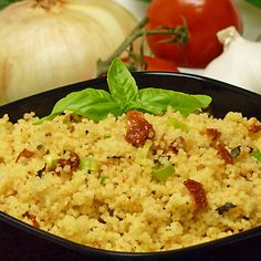 Sun-Dried Tomato Basil Couscous Recipe: Sun-Dried Tomato Basil Couscous Recipe