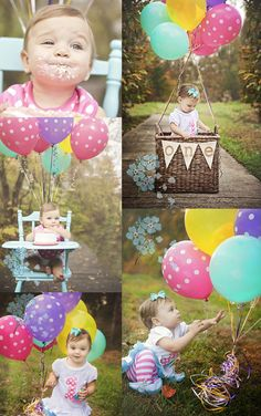 Fun Ideas For Your Baby Girls First Birthday Photo Shoot - Childrens birthday parties orleans ontario