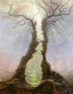 Rebirth by Tomasz Alen Kopera