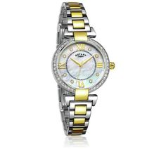 Buy Rotary Ladies' Gold Plated Two Tone Bracelet Watch at Argos.co.uk, visit Argos.co.uk to shop online for Ladies' watches, Watches, Jewellery and watches