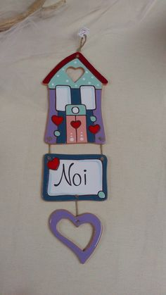 ceramica come mestiere: Casette decorative per la casa. Fuoriporta.