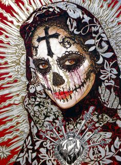 'The Word, The Flesh Y La Santa Muerte' by George Yepes